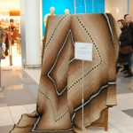 Didžiausias vąšeliu nertas kilimas