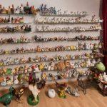 Gausiausias naminių paukščių statulėlių rinkinys