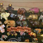 Gausiausia dekoratyvinių dramblių kolekcija