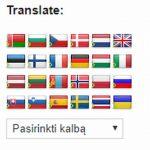 Daugiausia kalbų palaikoma interneto svetainė